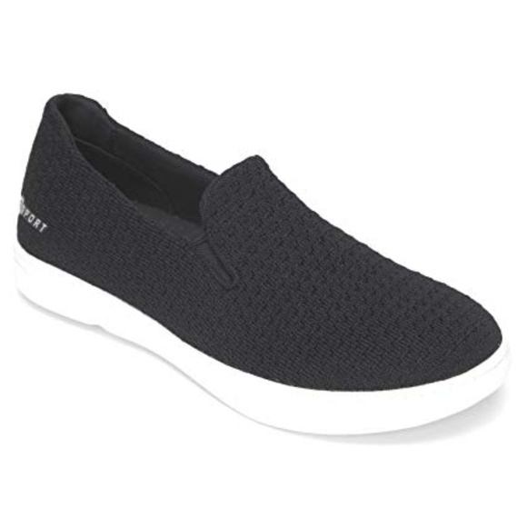 S SPORT BY SKECHERS Rufina Slip on Knit Shoes NWT